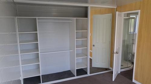 Wardrobe (open) in master bedroom
